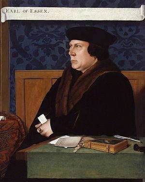 English: Portrait of Thomas Cromwell. London, ...