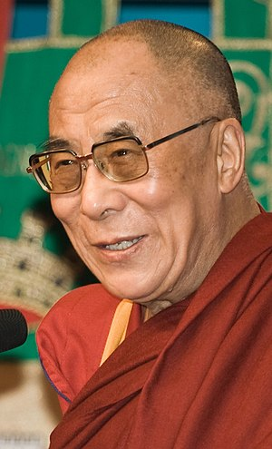 Tenzin Gyatso, the fourteenth and current Dala...