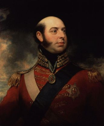 painting of Prince Edward, Duke of Kent