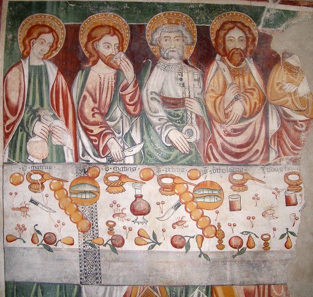 File:Ignoto del XV secolo Ultima Cena Boccioleto Alpe Seccio.jpg