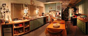English: Julia Child's Kitchen on display at t...