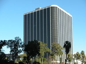 English: Headquarters of Los Angeles Unified S...