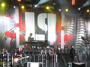 Linkin Park at the Novarock Festival.