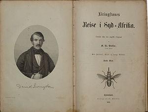 "Danish: David Livingstones ""Missionary Tr..."