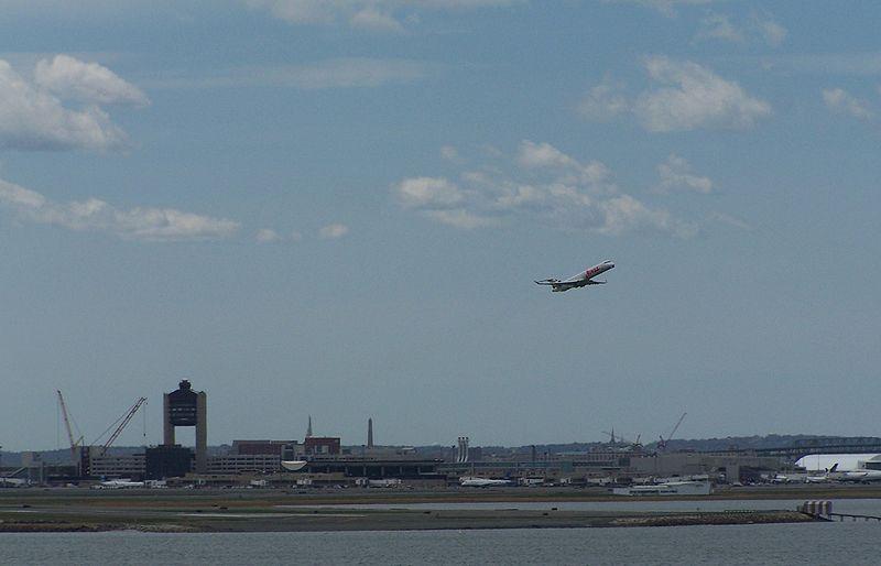 File:Loganairportwithplane.JPG