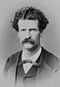 Mark Twain by Abdullah Frères, 1867