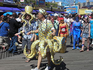 Coney Island Mermaid Parade 2007