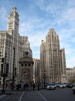 Magnificent Mile, Chicago, Illinois, USA (Wrig...