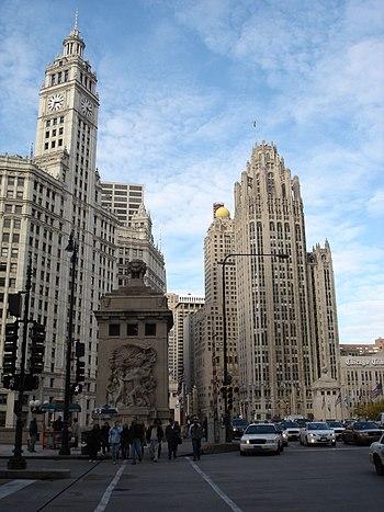 Magnificent Mile, Chicago, Illinois, USA (Wrig...
