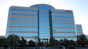 McAfee headquarters in Santa Clara.