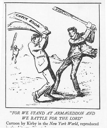 English: 1912 US cartoon by Rollin Kirby, show...