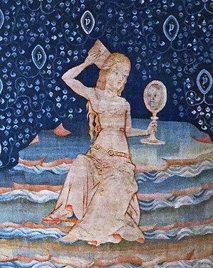 Representación de la prostituta de Babilonia s...