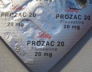 Fluoxetine (Prozac), an SSRI