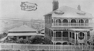 English: View of the Lady Lamington Hospital, ...