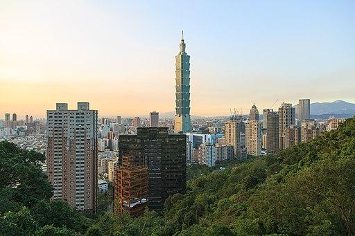 Taipei Taiwan Taipei-101-Tower-01