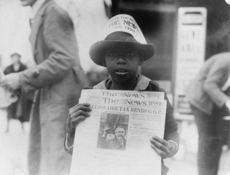 File:African American boy selling The Washington Daily News.png