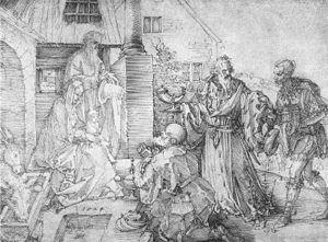 Albrecht Dürer - The Adoration of the Wise Man...