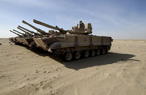 BMP-3 tanks of the UAE
