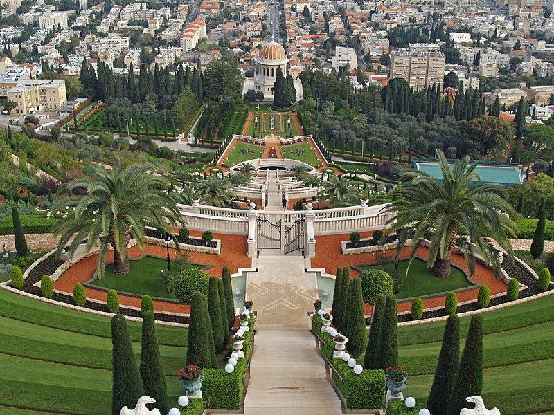 File:Bahá'í gardens by David Shankbone.jpg