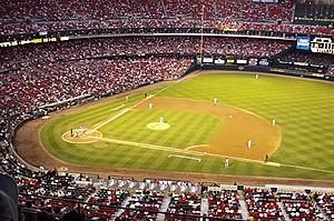 Busch Memorial Stadium, Thursday night, Septem...