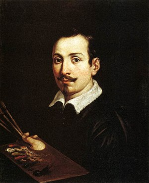 Domenichino - Portrait of Guido Reni - WGA06402