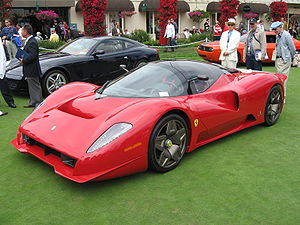 The Ferrari P4/5 at the Pebble Beach Concours ...