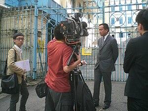 English: Phoenix TV and Hong Kong Cable Televi...