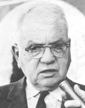 Harold Urey, circa 1963