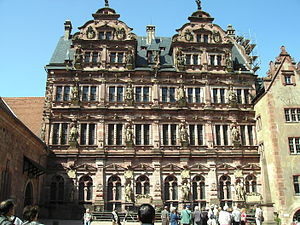 Deutsch: Heidelberger Schloss (Teilansicht, innen)