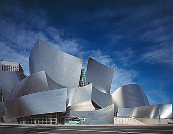 The Walt Disney Concert Hall, home to the Los ...