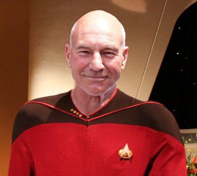 Captain Picard photograph from recipe Clingons - easy dessert - lifecreativelyorganized.com