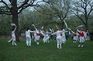 Morris dancing in Minneapolis, Minnesota on Ma...