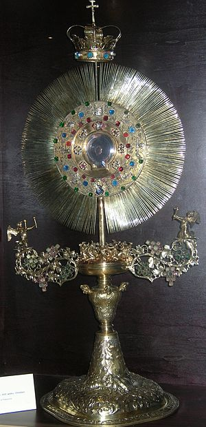 Monstrance from museum in Pelplin