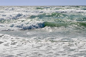 English: Ocean waves