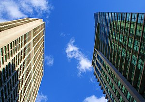 Residential condominiums face off at Bay and C...