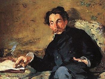 Portrait of Stéphane Mallarmé, by Eduard Manet...