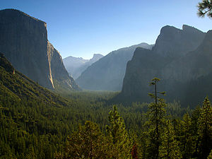 Yosemite Valley in the morning
