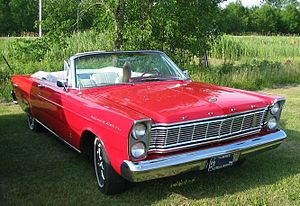 1965 Ford Galaxie 500XL photographed in Mont S...
