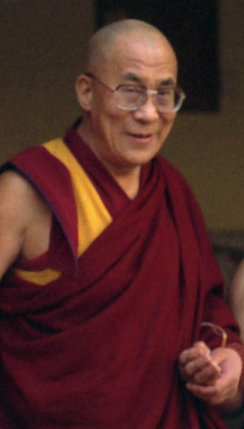 English: 14th Dalai Lama, Dharasmala, India
