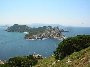 Cíes Islands in Galicia