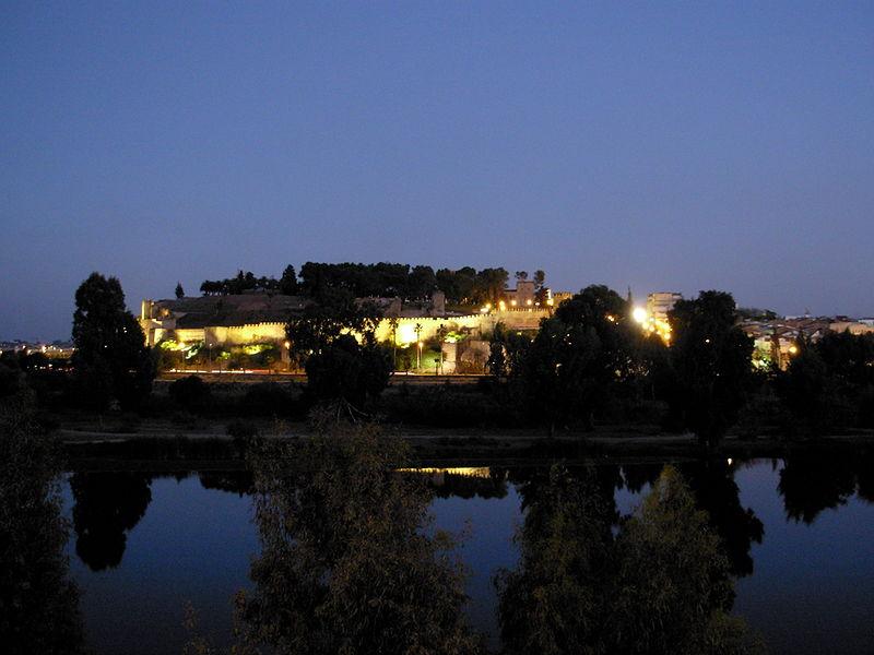 L'Alcazaba le soir