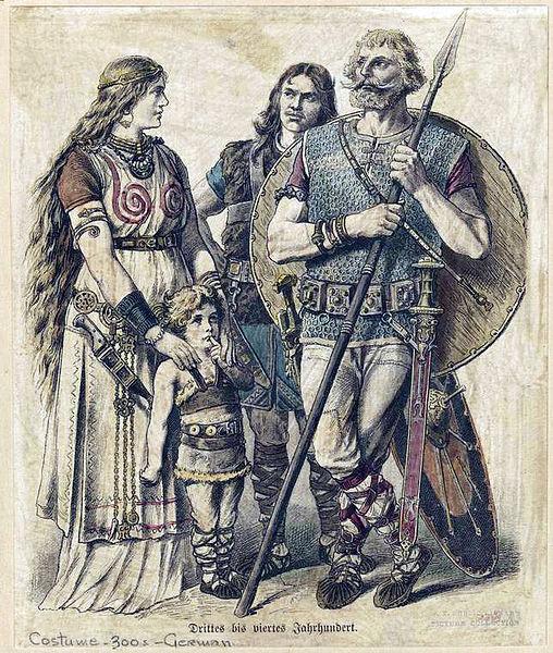 File:Ancient German Family.jpg