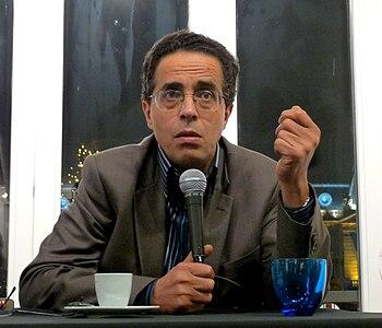 English: Franco-Algerian writer Anouar Benmale...