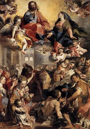 Federico Barocci, Madonna del Popolo (Madonna ...