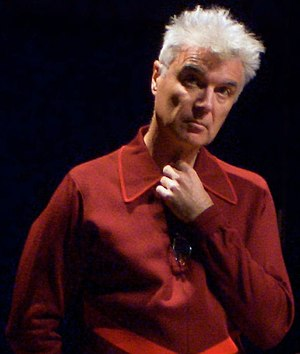 David Byrne speaking at the 2006 Future of Mus...