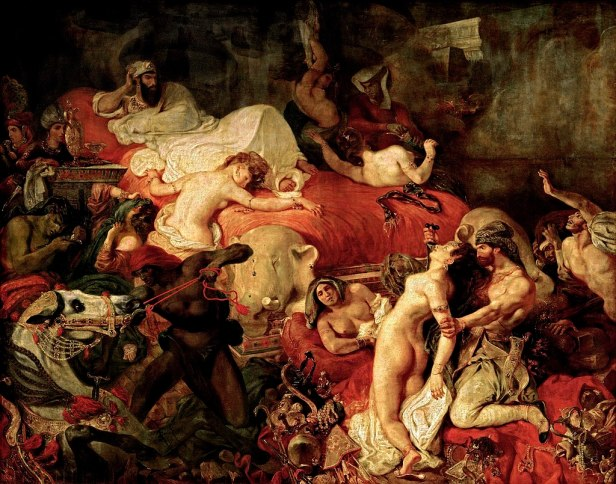 """The Death of Sardanapalus"" by Eugène Delacroix"