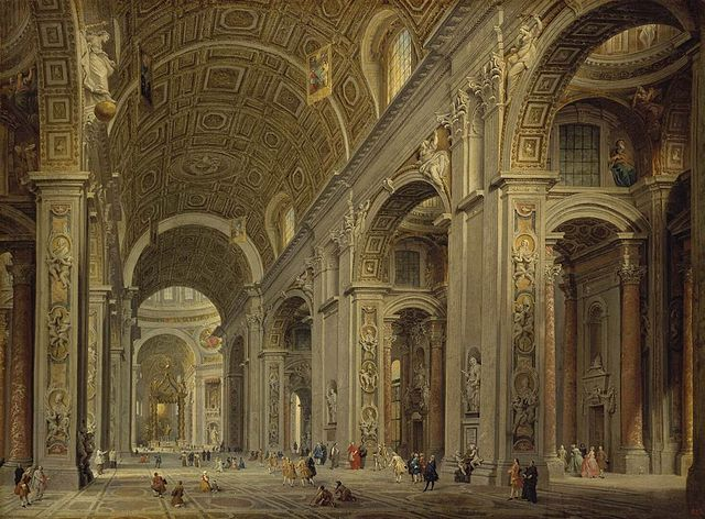 https://i2.wp.com/upload.wikimedia.org/wikipedia/commons/thumb/2/2f/Giovanni_Paolo_Pannini_-_Interior_of_St_Peter%27s_in_Rome_-_WGA16972.jpg/640px-Giovanni_Paolo_Pannini_-_Interior_of_St_Peter%27s_in_Rome_-_WGA16972.jpg