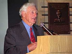 John Seigenthaler Sr. speaking at the Birmingh...