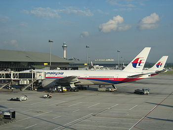 Malaysia Airlines airplanes at Kuala Lumpur In...
