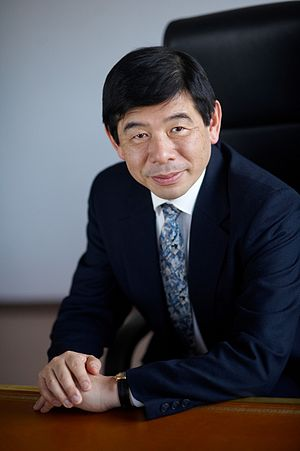 Picture of Kunio Mikuriya at the World Customs...